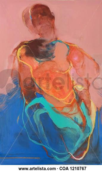 Dualities 3 Figura Acrílico Lienzo