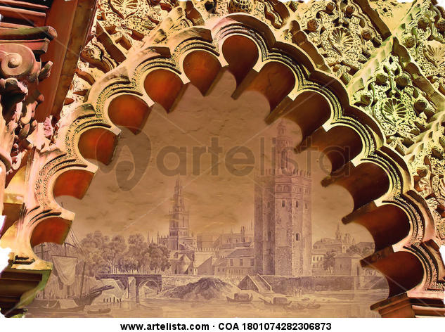 Sevilla, Alcázar Color (Química) Arquitectura e interiorismo
