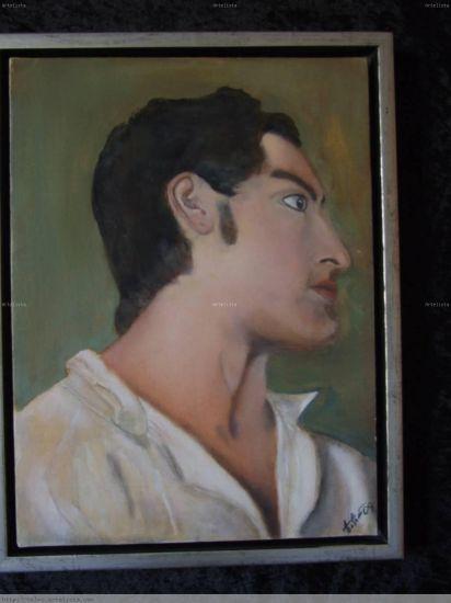 Retrato Óleo Lienzo Retrato