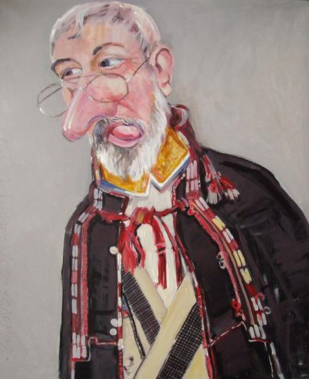 Hutsul Mikolaj Lienzo Otros Retrato