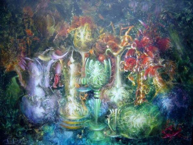 Fantasmas de cristal Lienzo Acrílico