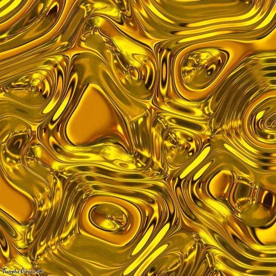 Tasting liquid gold.