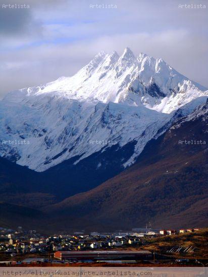 Monte Cinco Hermanos Naturaleza Color (Digital)