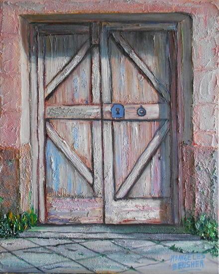 Puerta vieja 2 m angeles rodr guez d az for Puerta vieja madera