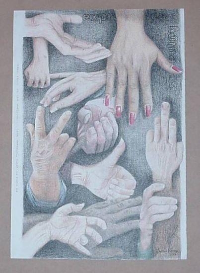 Expresiones humanas Lápiz (a color) Papel