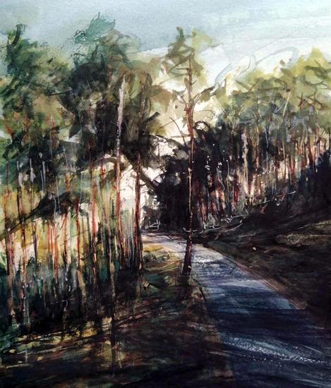 Pinar de Revenga Landscaping Watercolour Paper
