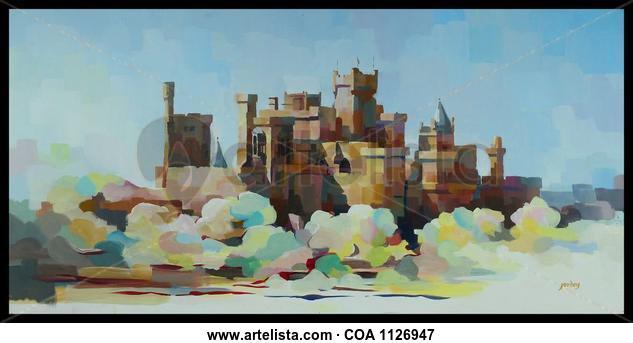 Castillo de Olite Others Acrylic Panel