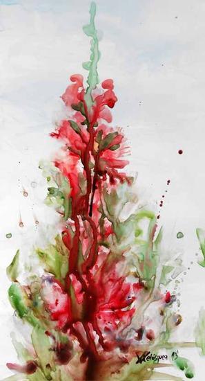 Katrala Acuarela Floral Papel