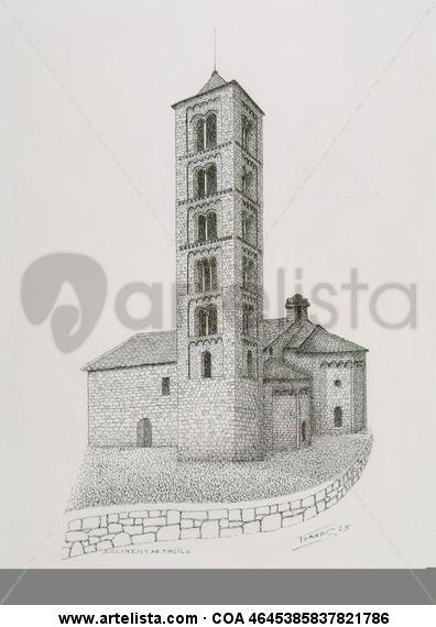 Sant Climent (Taüll) Tinta