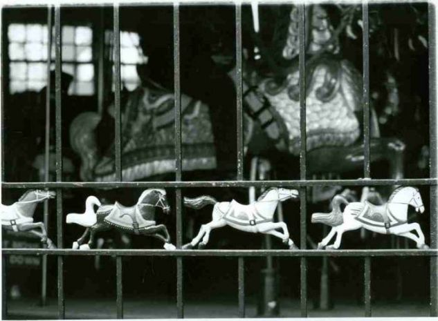 Los caballitos de Central Park Arquitectura e interiorismo Blanco y Negro (Digital)