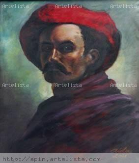 UN TRIBUTO A CRISTOBAL ROJAS Acrílico Lienzo Retrato - 1079682547377117