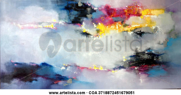 Abstract 372 Canvas Oil Others