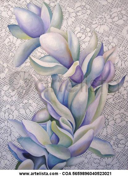 Camino de Perfección - C Lienzo Óleo Floral