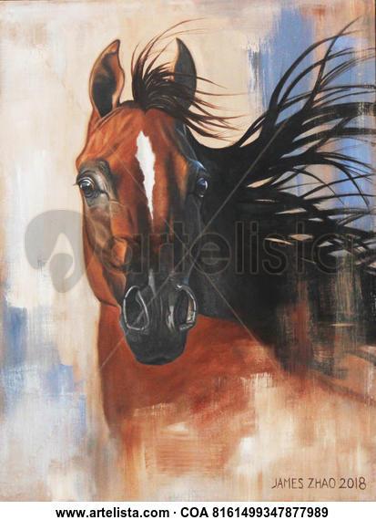 The Spirited Wind Animales Óleo Lienzo