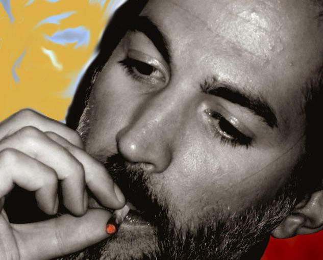 Humos Blanco y Negro (Digital) Retrato