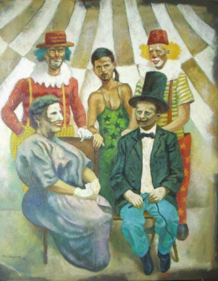 familia de circo - francisco eduardo francisco eduardo - artelista.com