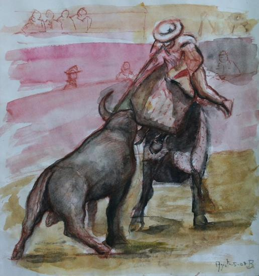 De toros y toreros, suerte de varas