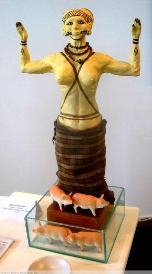 diosa cuchimilca