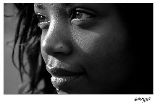 Nadia 36 Retrato Blanco y Negro (Digital)