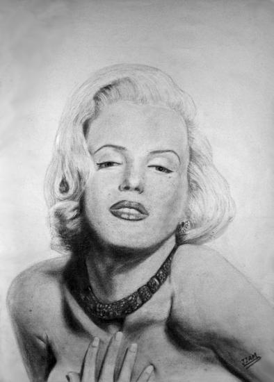 Marilyn Papel Otros Retrato