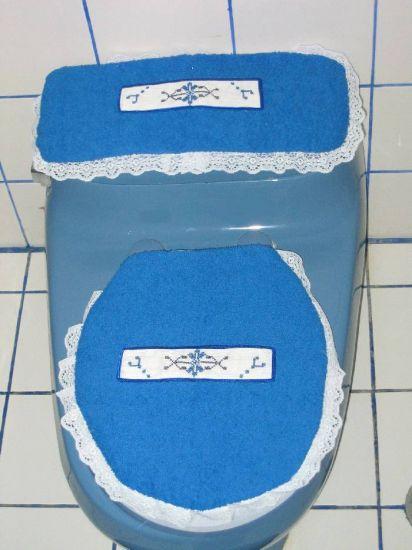 cubiertas de baño Bordados Textil