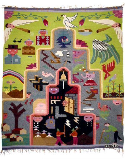 Pasado, Presente y Futuro Tapices Textil