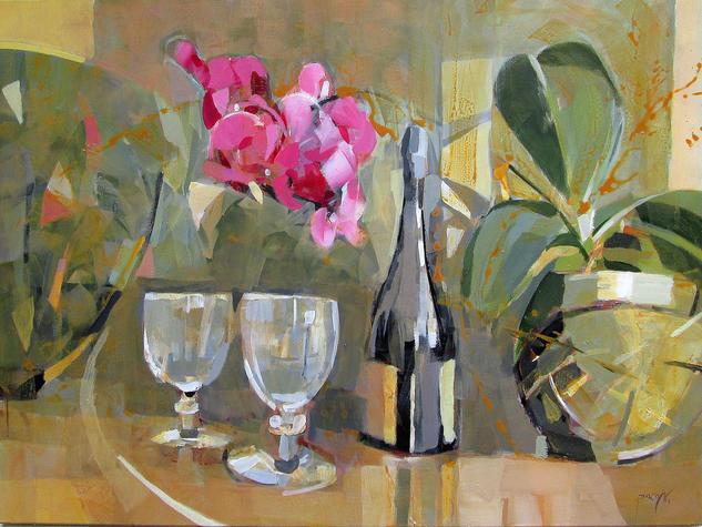 Bodegón 11 Still Life Paintings Acrylic Canvas
