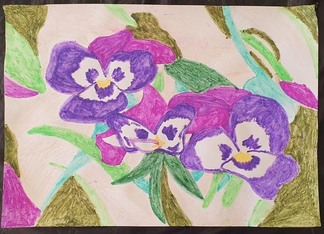Flores violetas Otros