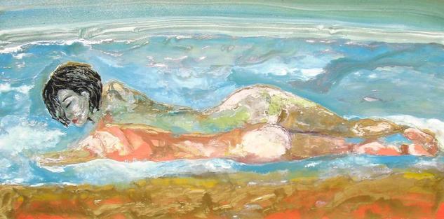 Atraccion vendida Canvas Industrial Nude Paintings