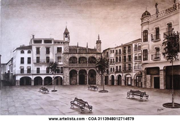 plasencia plaza mayor