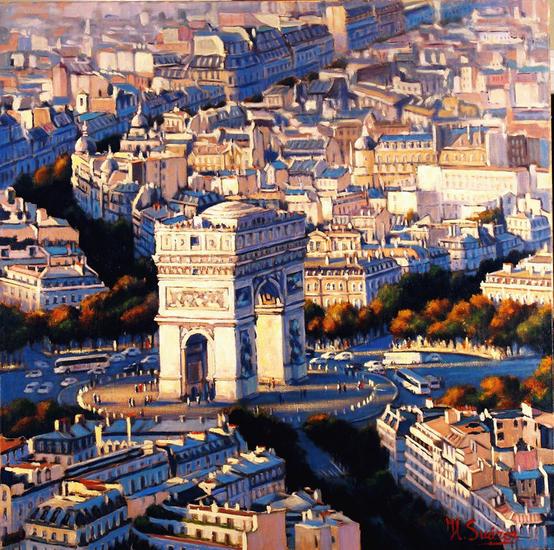 paris- arco de triunfo