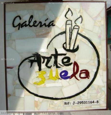 Aviso Galería Artezuela De vidriera Tabla Otros