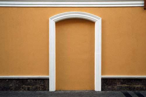 Puerta cerrada Color (Digital) Conceptual/Abstracto