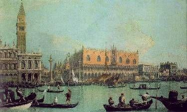 Vista del Palacio Ducal
