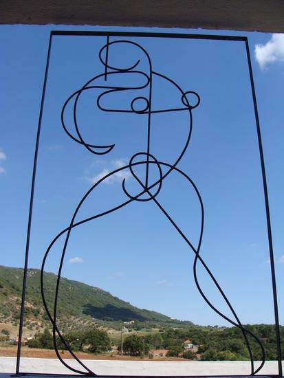 bailarina Figurativa Metal
