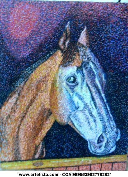 Cara Caballo Animales Tabla Pastel
