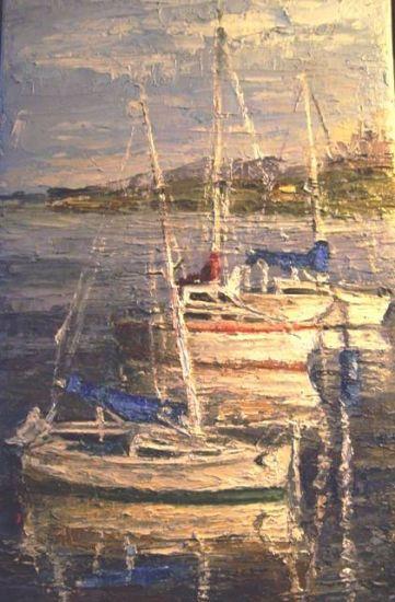 barcos en la bahia