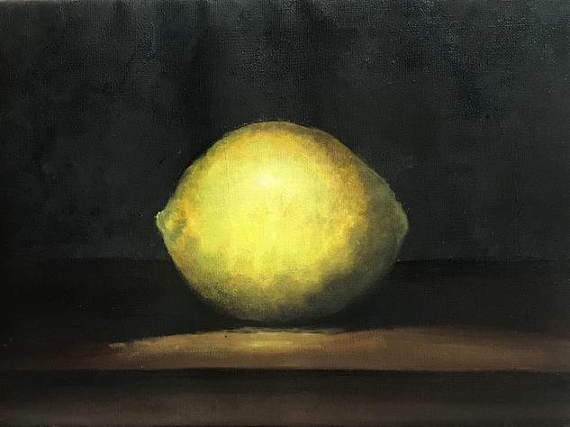 limon Bodegones Óleo Lienzo