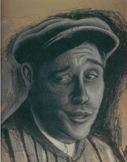 Witkiewicz - pintor polaco - de joven Pastel Papel Retrato