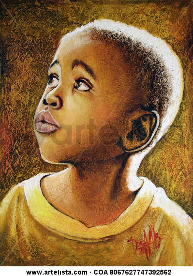 niño de áfrica