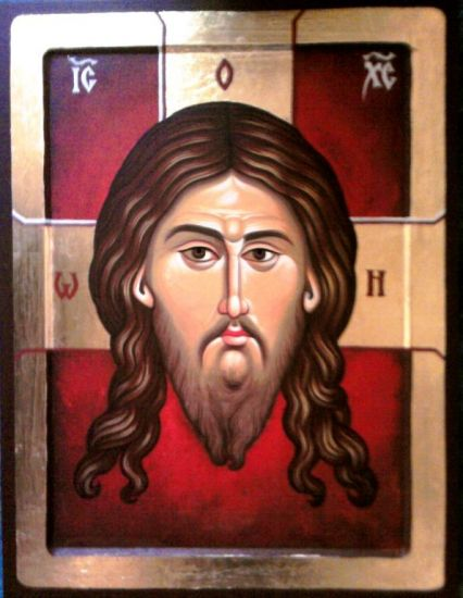 Jesus Christ 36 x 24 cm egg tempera on wood