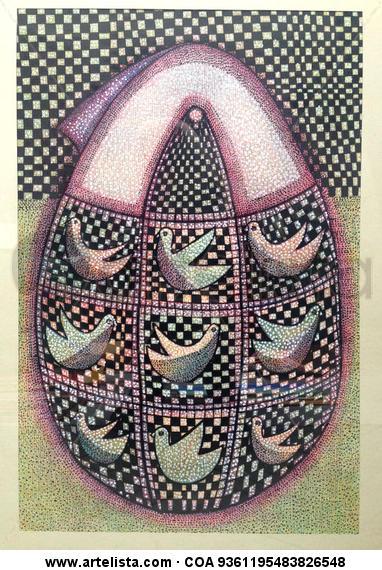 Motherhood Animales Lápiz (a color) Papel