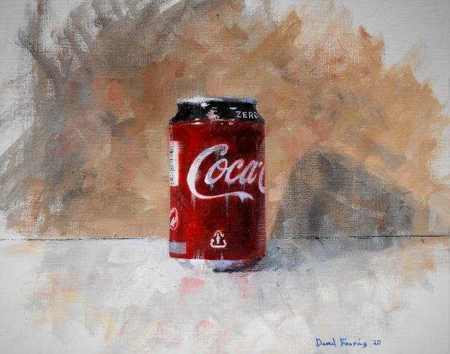 Cola 2020 Bodegones Óleo Papel