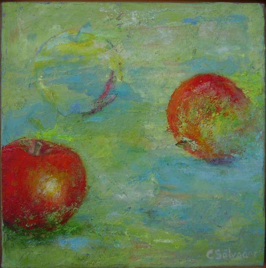 manzana en progresión