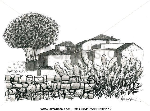 Paisaje Canario Tinta