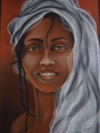 JAMAICA Retrato Pastel Cristal