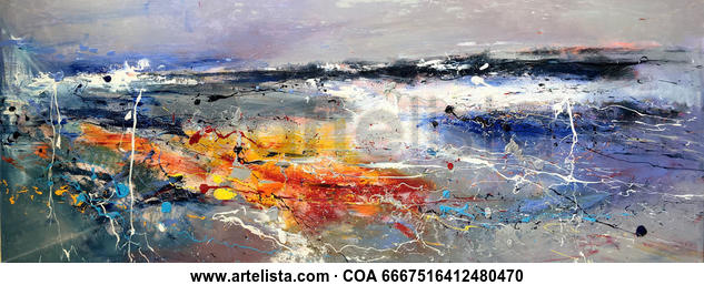 Conflict 457 Others Oil Canvas