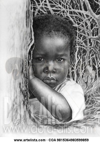 niña de raza negra 85
