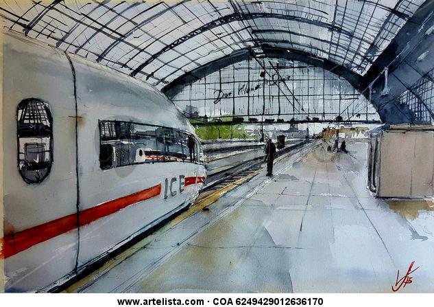 estación de colonia/köln station