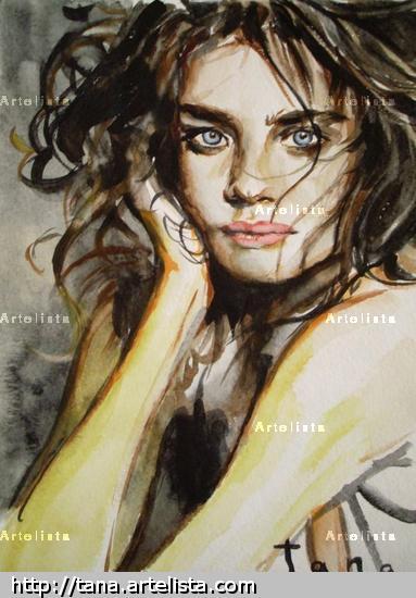 Vodyanova Portrait Watercolour Paper